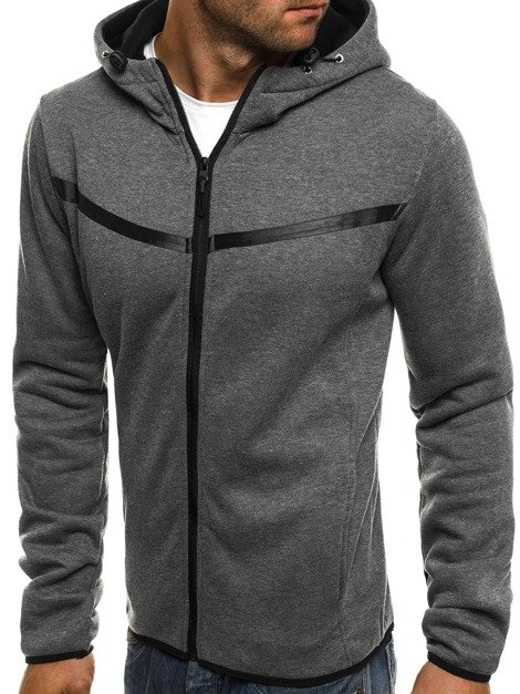 J.STYLE AK74 Men's Sweatshirt - Dark grey