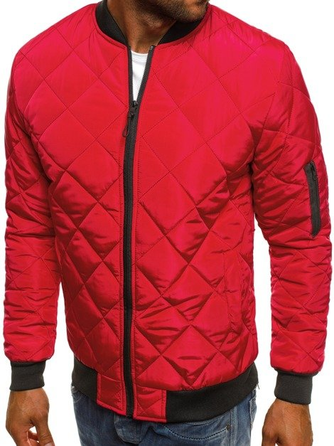 J.STYLE AK76 Men's Jacket - Red