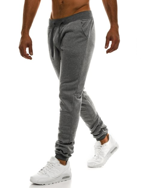 J.STYLE KK01 Men's Sweatpants - Dark grey