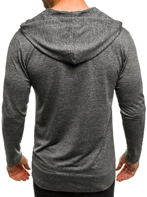 MADMEXT X1289B Men's Sweatshirt - Dark grey
