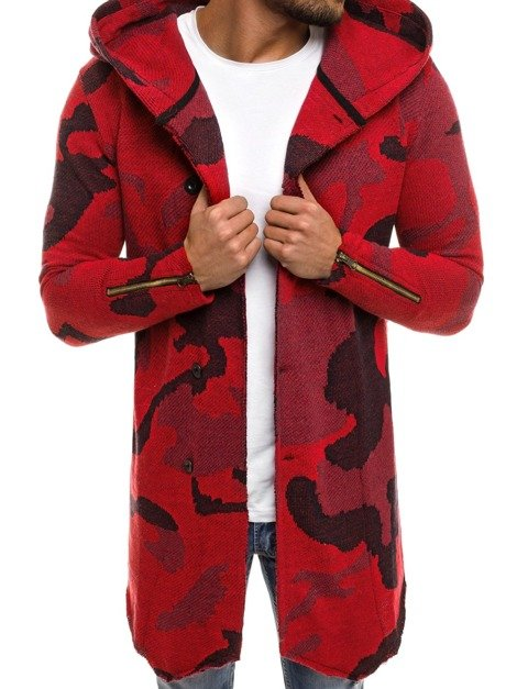 MECHANICH 0918B Men's Jumper - Red