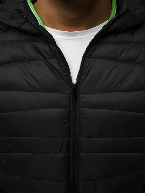 Men's Jacket - Black OZONEE JB/JP1139