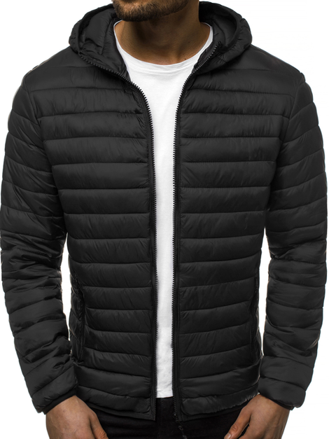Men's Jacket - Black OZONEE JS/LY35