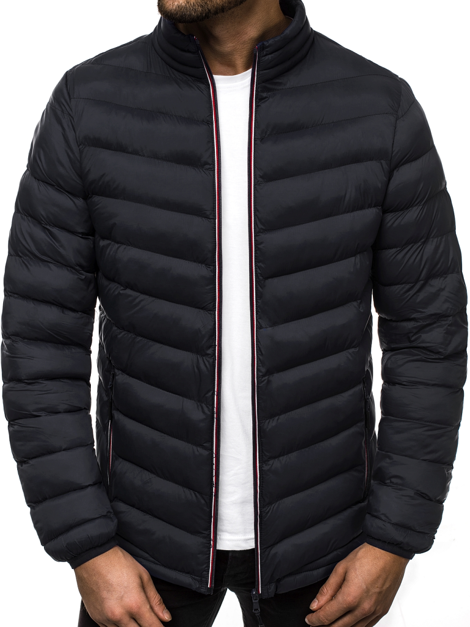 Men's Jacket - Black OZONEE JS/SM71