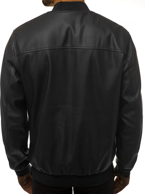Men's Jacket - Black OZONEE N/6121