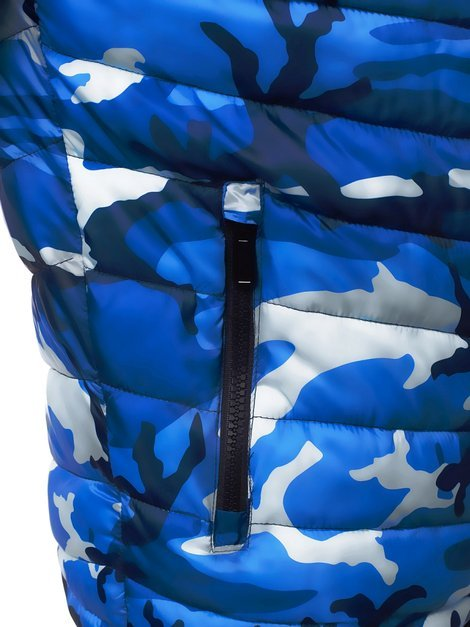 Men's Jacket - Blue-Camo OZONEE JS/SM80