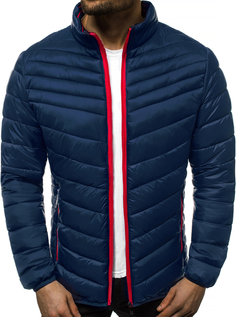 Men's Jacket - Navy blue OZONEE JB/JP1137