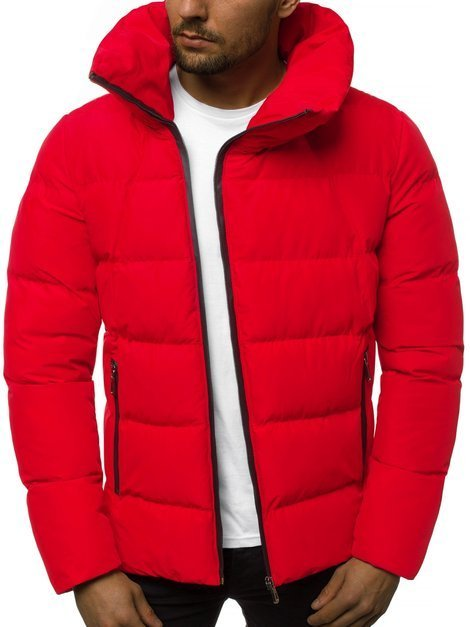 Men's Jacket - Red OZONEE B/35022