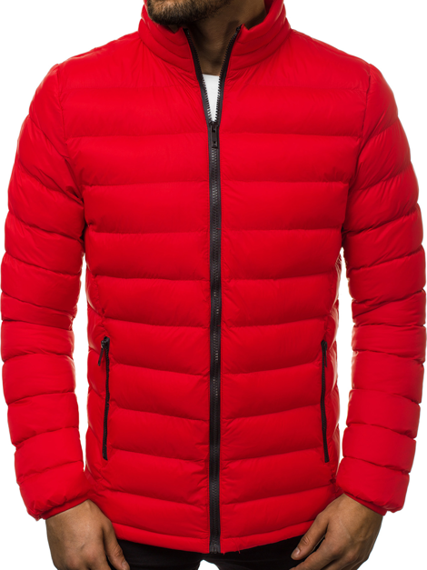 Men's Jacket - Red OZONEE JB/JP1111