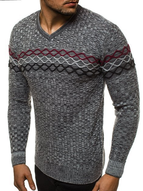 Men's Jumper - Anthracite/1 OZONEE O/2031/19