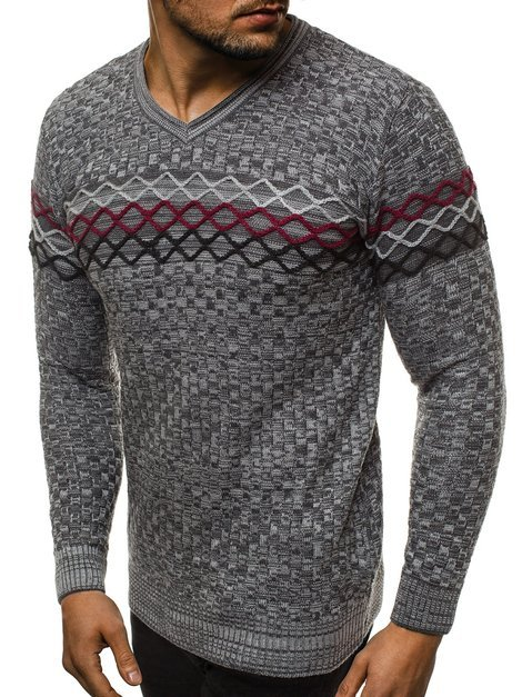 Men's Jumper - Anthracite/2 OZONEE O/2031/19
