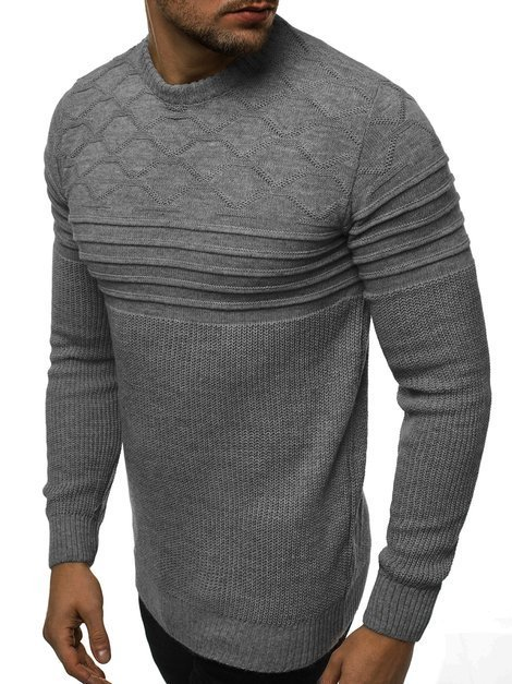 Men's Jumper - Anthracite OZONEE O/2021/19