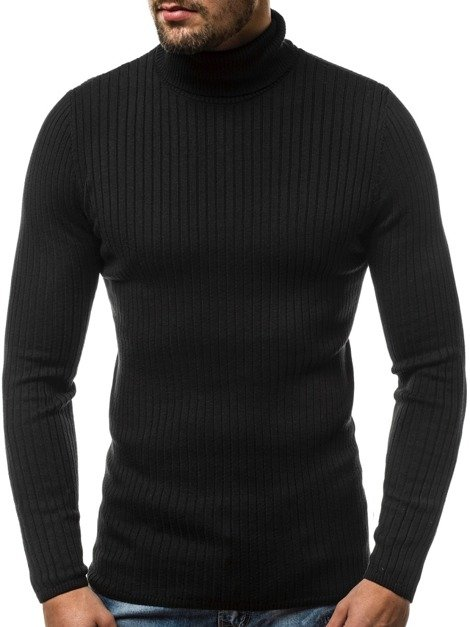 Men's Jumper - Black OZONEE B/1094S