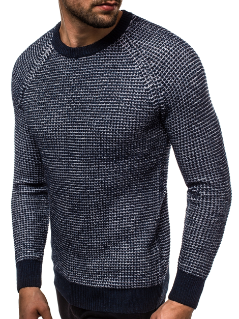 Men's Jumper - Blue OZONEE HR/1932S