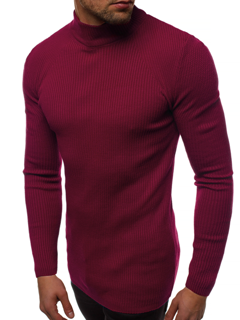 Men's Jumper - Burgundy OZONEE MACH/TRK2000