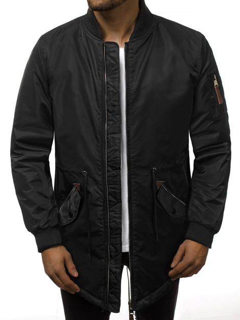 Men's Light Jacket - Black OZONEE JD/363
