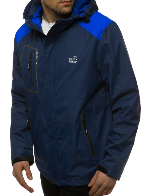 Men's Light Jacket - Navy blue  OZONEE MG/2515