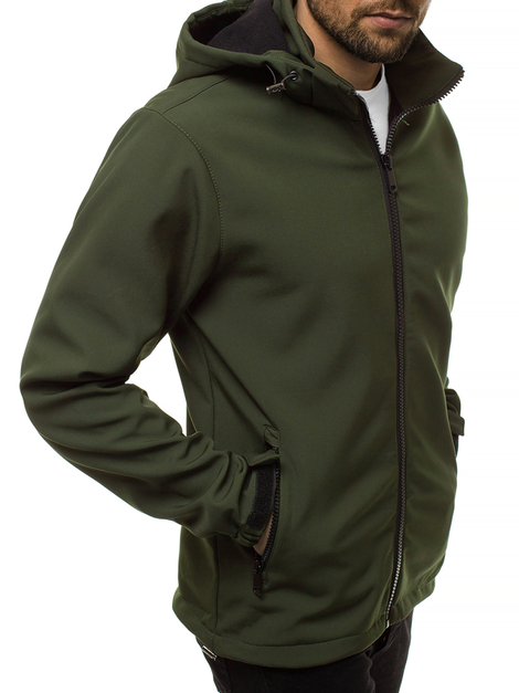 Men's Softshell Jacket - Green OZONEE JS/56008Z