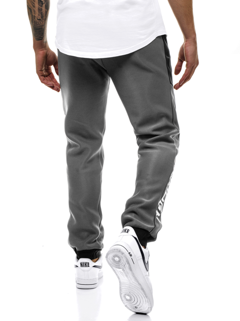Men's Sweatpants - Anthracite OZONEE JS/AM80