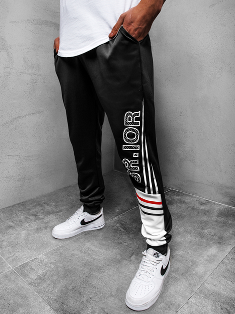 Men's Sweatpants - Black OZONEE JS/AM123Z