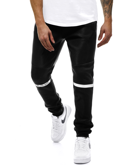 Men's Sweatpants - Black OZONEE JS/AM78