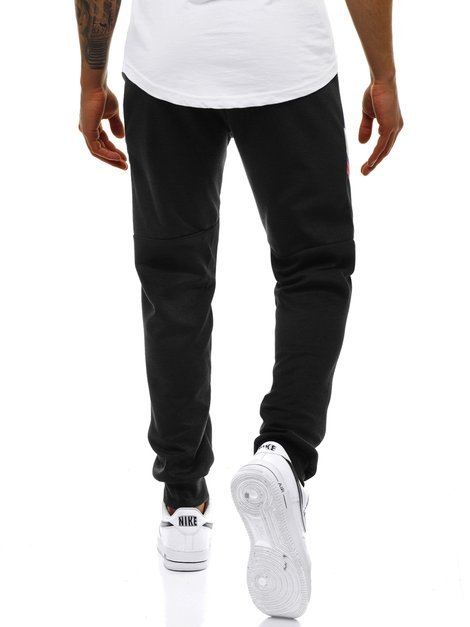 Men's Sweatpants - Black OZONEE JS/JZ11025Z