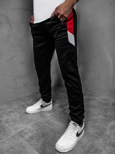 Men's Sweatpants - Black OZONEE JS/JZ11026Z