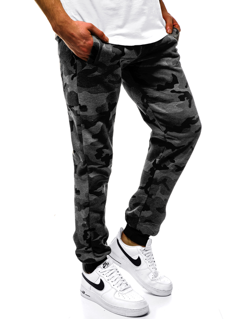 Men's Sweatpants - Dark grey OZONEE JS/KZ15