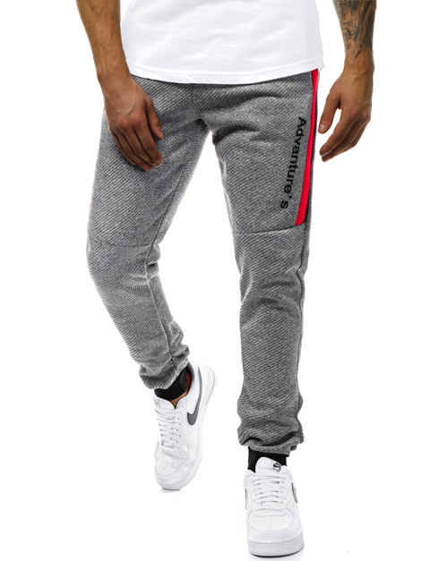 Men's Sweatpants - Grey OZONEE JS/AM68