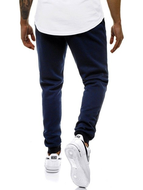 Men's Sweatpants - Navy blue OZONEE JS/AM70