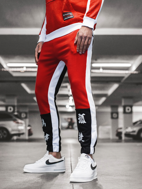 Men's Sweatpants - Red OZONEE G/11122