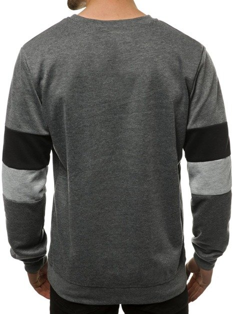 Men's Sweatshirt - Anthracite OZONEE JS/JZ11039