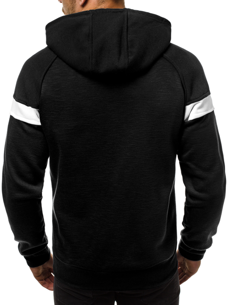 Men's Sweatshirt - Black OZONEE JS/88032