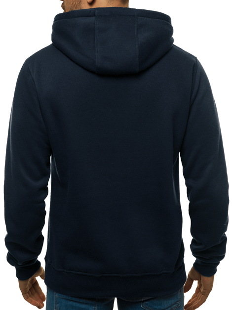 Men's Sweatshirt - Dark navy blue OZONEE JS/2009