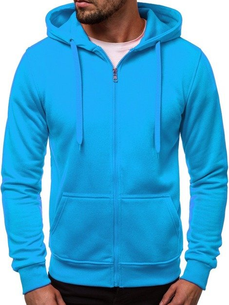 Men's Sweatshirt - Light Blue OZONEE JS/2008