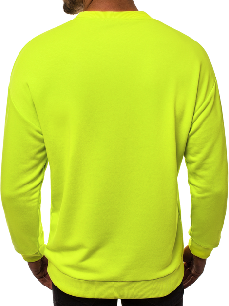 Men's Sweatshirt - Light Green OZONEE B/10025