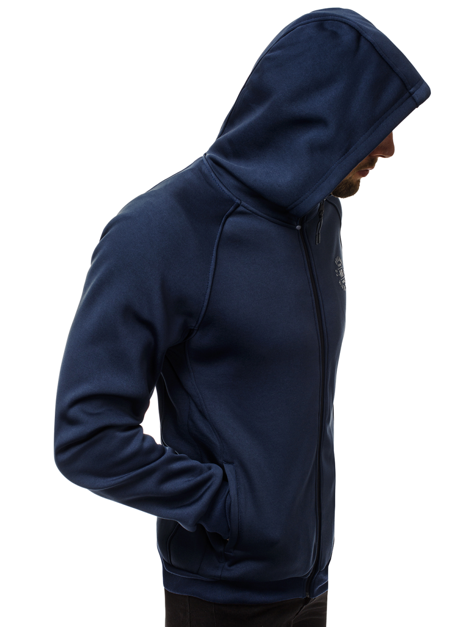 Men's Sweatshirt - Navy blue OZONEE JS/88009