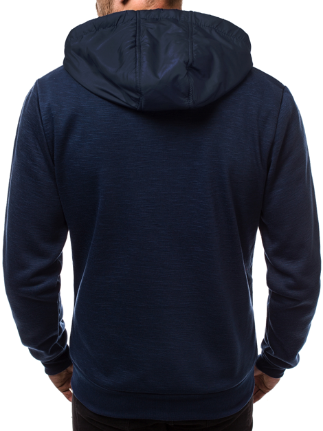 Men's Sweatshirt - Navy blue OZONEE JS/88027