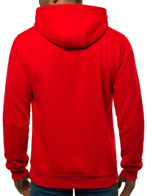 Men's Sweatshirt - Red OZONEE JS/2009