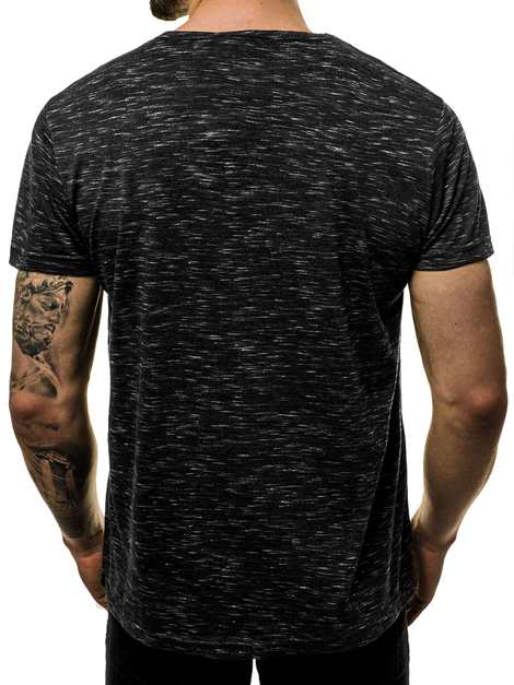 Men's T-Shirt - Black OZONEE JS/KS2043