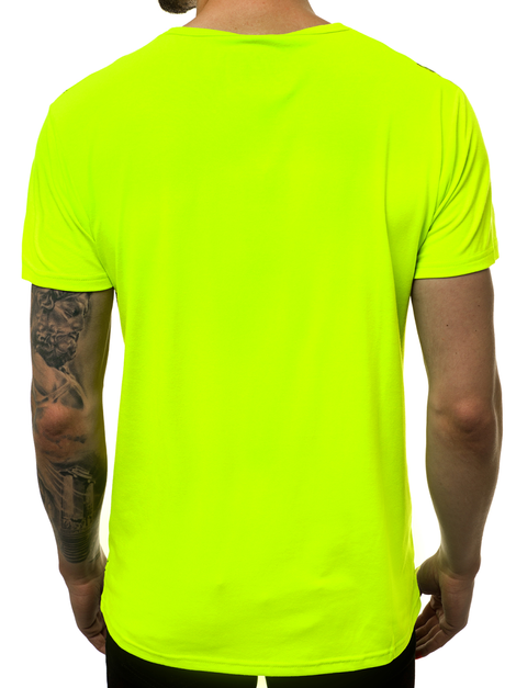 Men's T-Shirt - Green OZONEE JS/KS2015