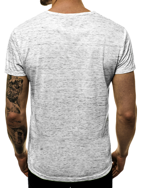 Men's T-Shirt - Grey OZONEE JS/KS2043