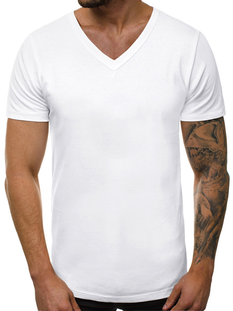 Men's T-Shirt - White OZONEE O/1211