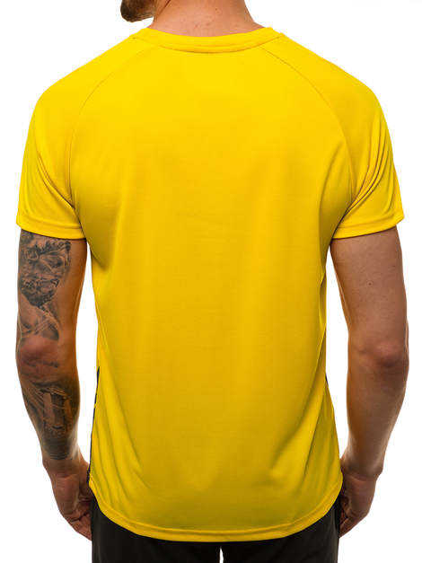 Men's T-Shirt - Yellow OZONEE JS/KS2062