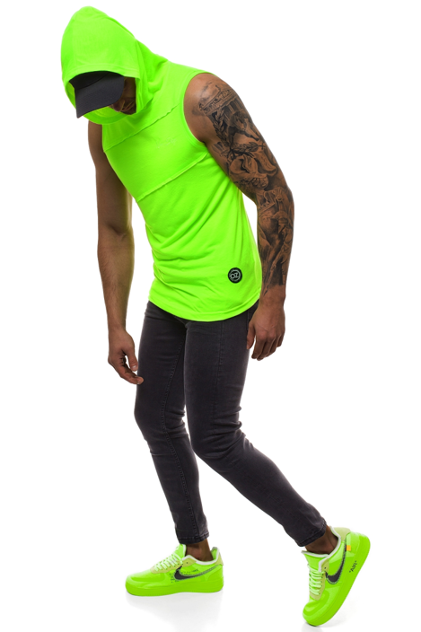 Men's Tank Top - Green-neon OZONEE O/2538X