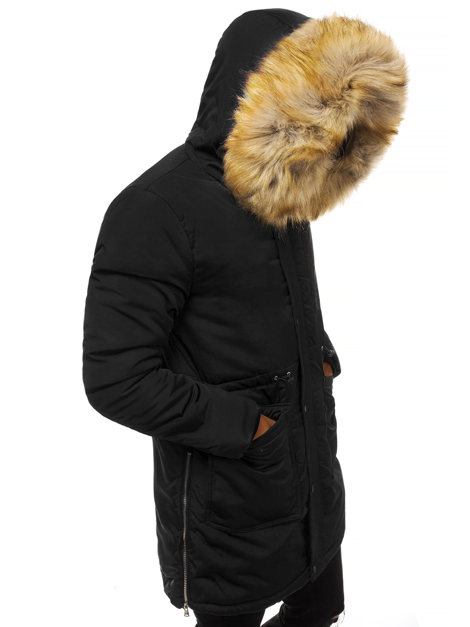 Men's Winter Jacket - Black OZONEE JD/351