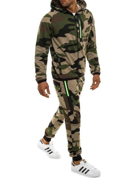 OZONEE 0924 Men's Tracksuit - Green