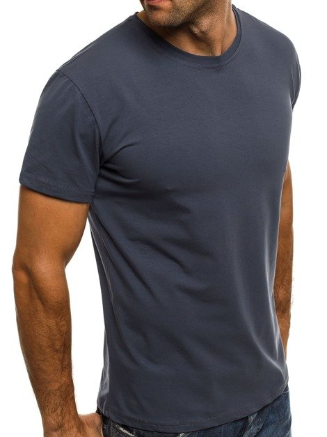 OZONEE 1957 Men's T-Shirt - Indigo