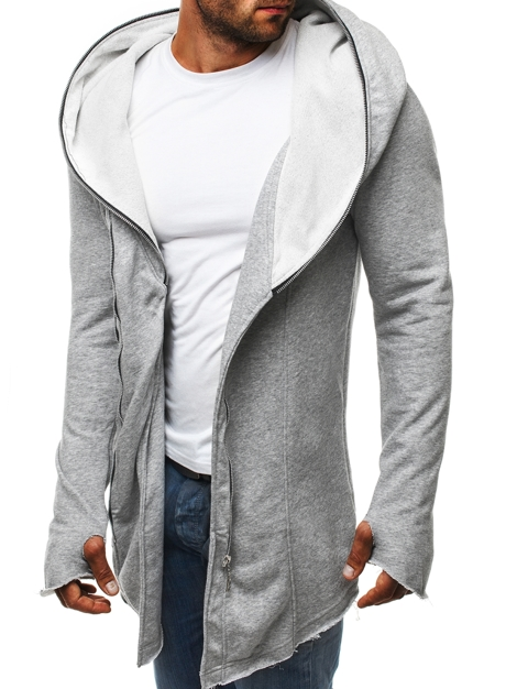OZONEE 2036-10 Men's Sweatshirt - Grey