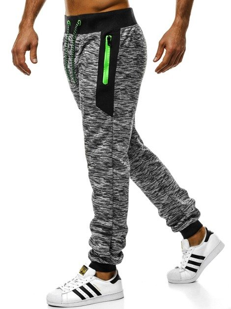 OZONEE JS/55053 Men's Sweatpants - Grey